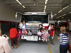 Florence - Fire Station visit
