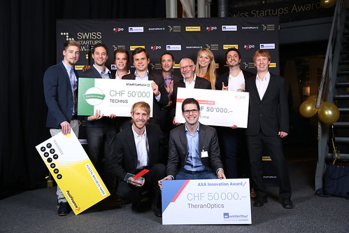 SWISS STARTUPS AWARDS 2015