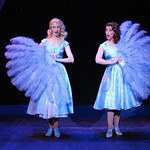 Irving Berlin's White Christmas - Arvada Center Photo P. Switzer Photography 2015 - Pictured: Erica Sweany (Judy Haynes) and Lauren Shealy (Betty Haynes)