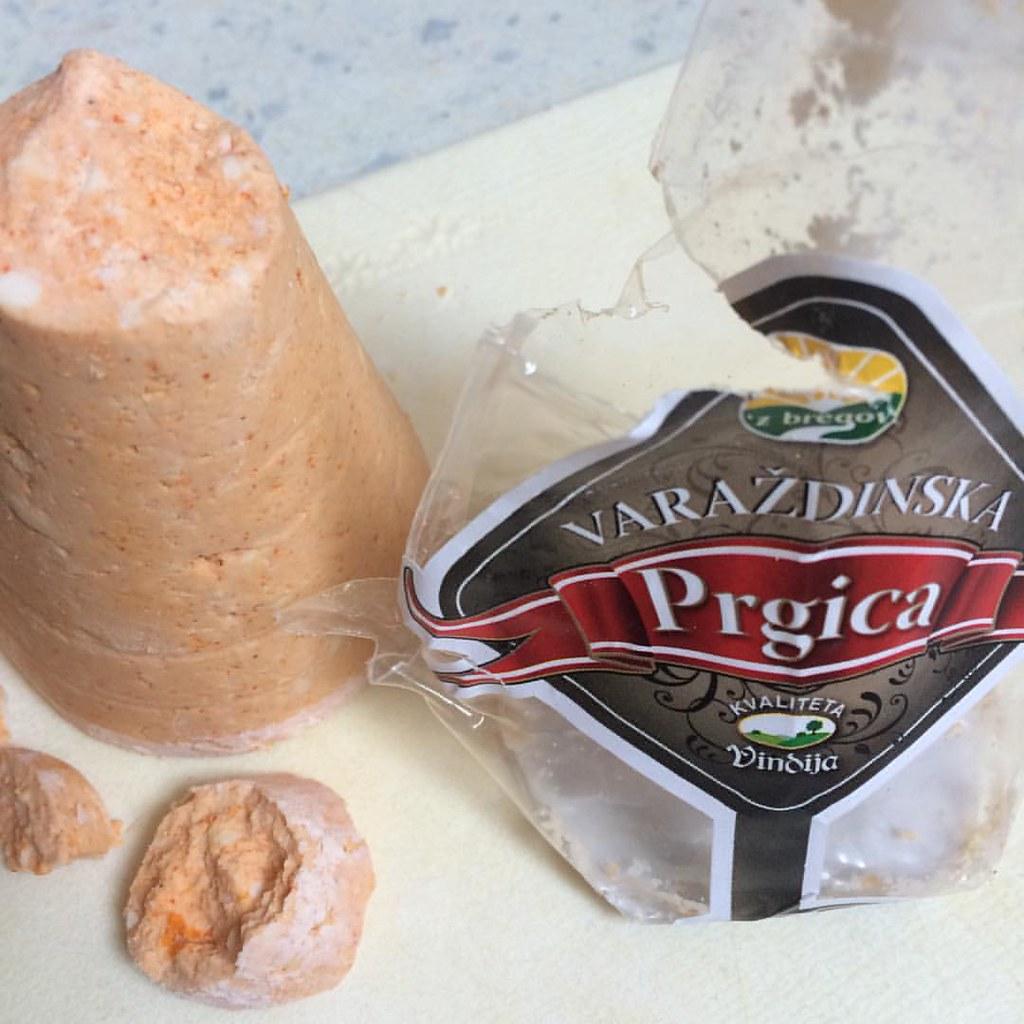 #prgica #sir #varazdin #hrvatska #croatiancheese #cheese #Käse #kroatischespezialität #food #foodie #foodbloggersofinstagram #foodbloggerontour #urlaubsmitbringsel #urlaubserinnerung #igerscroatia