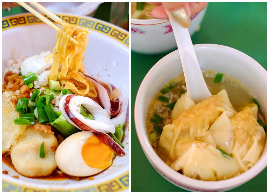 Guan's Mee Pork with sotong & Teochew Dumplings Soup