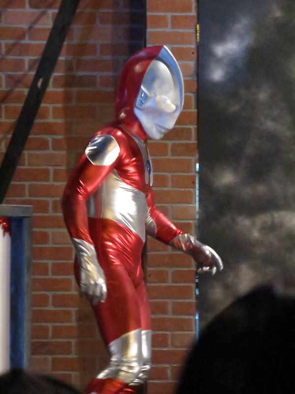 Ultraman, 2015 Waverly Place costume show
