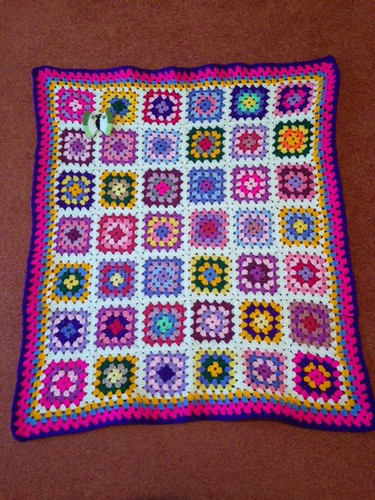1170 Thank you Liz D. A beautiful Sunshine Blanket.