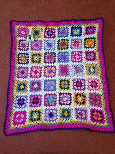 1170 Thank you Liz D. A beautiful Sunshine Blanket.
