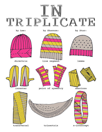 In Triplicate!