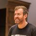 John Kielty in rehearsals