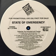 V.A.:STATE OF EMERGENCY SAMPLER E.P.(LABEL SIDE-A)