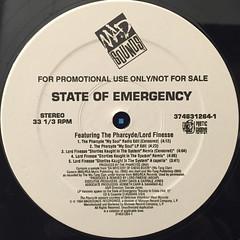 V.A.:STATE OF EMERGENCY SAMPLER E.P.(LABEL SIDE-A)