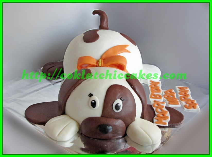 Cake Anjing