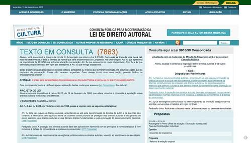 Consulta Direito Autoral