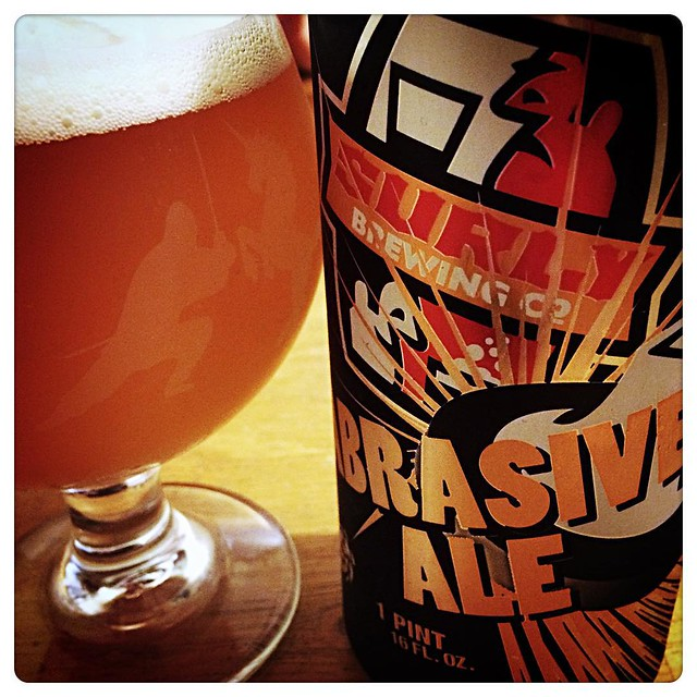 Straight #hops #inyoface Holy Smokes!! @surlybrewing Abrasive straight after a @firestonewalker Velvet Merkin is the way to live. #hoplove #hopbomb #craftbeer #ipa #dipa #Abrasive #ale