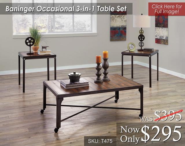 Baninger Table Set