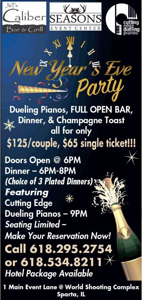 Dueling Pianos NYE