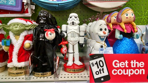 Frozen and Star Wars Nutcrackers