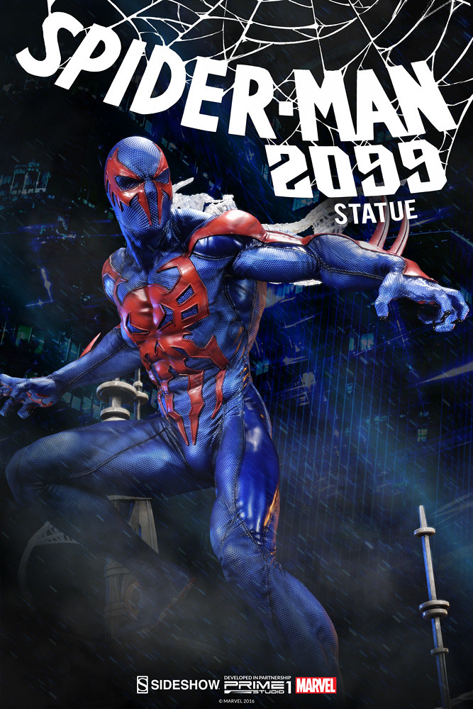 Prime 1 Studio【未來蜘蛛人】Spider-Man 2099 1/4 比例全身雕像作品 PMMV-01