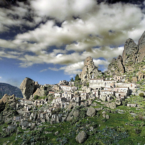 Pentedattilo, Calabria, Italia