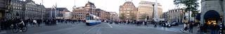 Image of Dam Square near Amsterdam. lorenzo blangiardi lydser olanda holland travel amsterdam square dam landscape panorama red light district mulino vento windmill station ball soap
