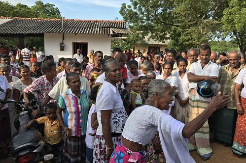 srilanka protest development agriculture