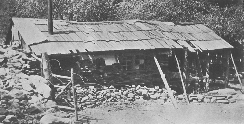 The original cabin on Iron Fork (Trogdens)