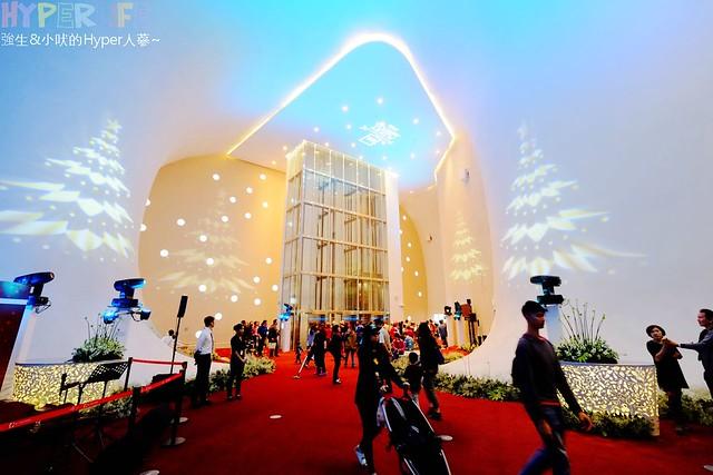 台中歌劇院聖誕燈光秀 (16)