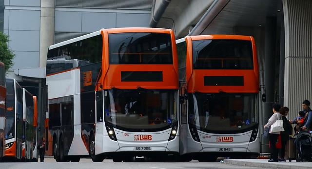 Two LWB 12.8m E500 MMC Facelift coaches...