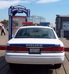 Santa Monica CA Police - 1997 Ford Crown Victoria (2)