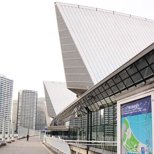 そういえば、二週連続で来たな。 #パシフィコ横浜 #ジャパンインターナショナルボートショー2017