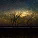 Milky Way Setting Below the Horizon by inefekt69