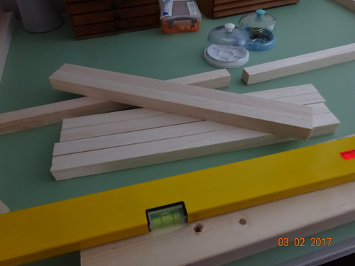Wood for bench edging