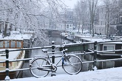 Brouwersgracht beautiful and cold