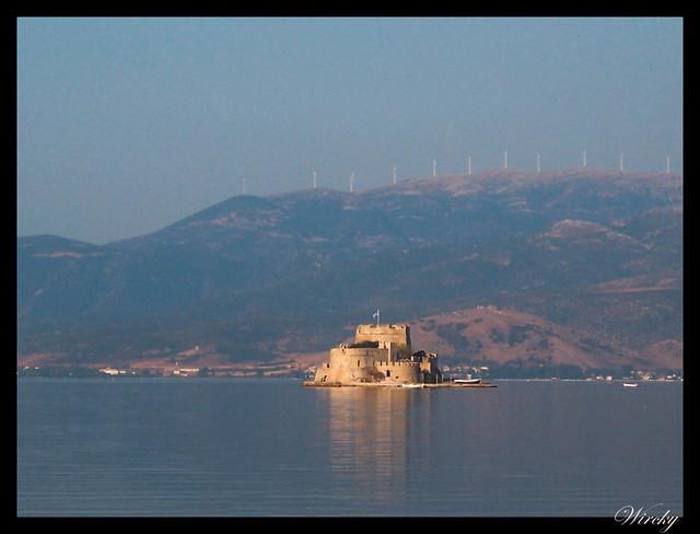 Grecia Nauplia Esparta Mistrás Olimpia - Fortaleza de Bourtzi