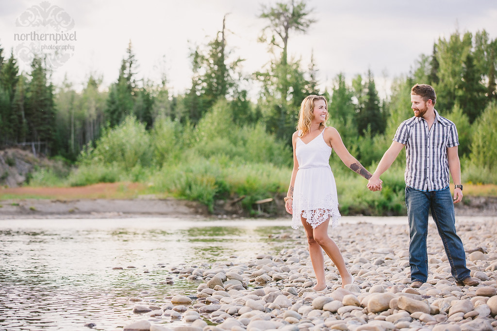 Engagement Photographer - Prince George wedding photography