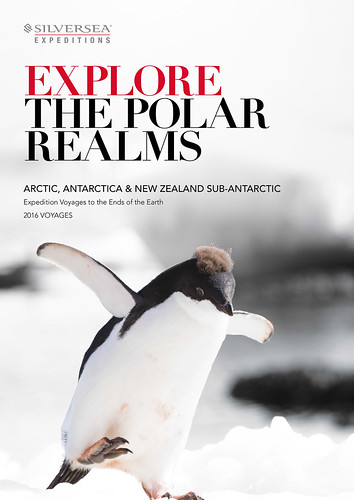 Silversea 2016 'Explore the Polar Realms' brochure