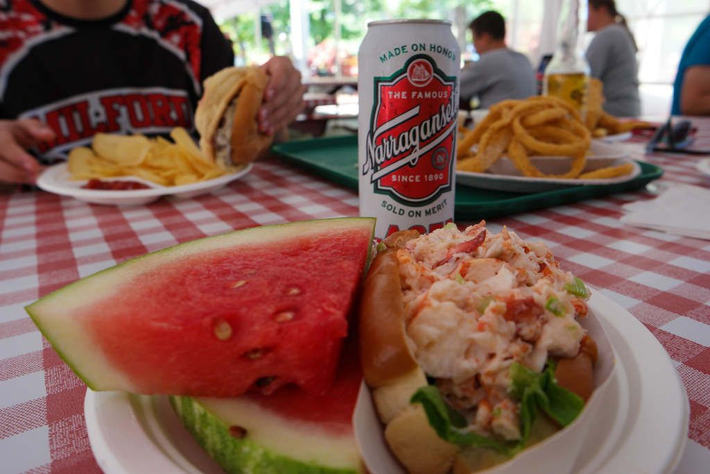 Lobster Roll Lunch at Kimball's Farm