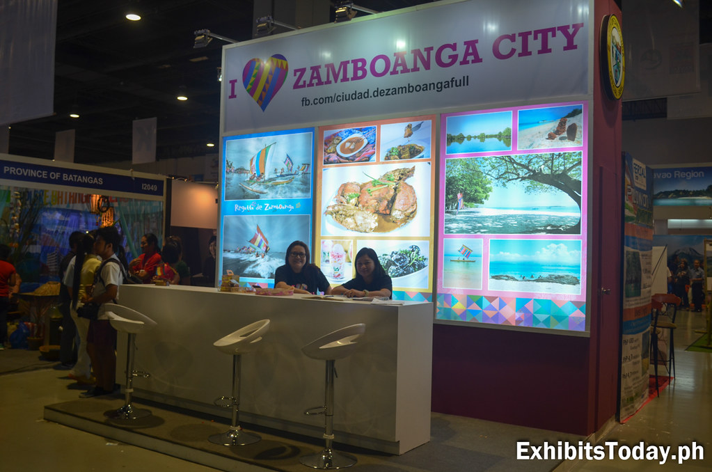 Zamboanga Tourism Exhibit Stand