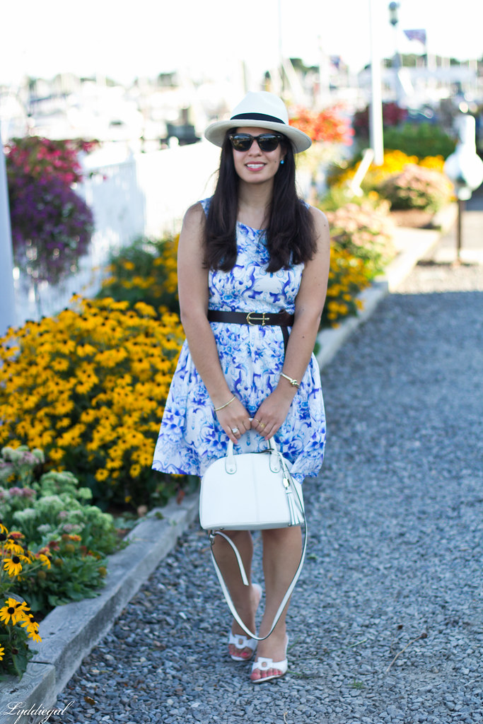 blue and white porcelain print dress, panama hat_-3.jpg