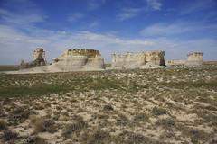 Monument Rocks -- Kansas