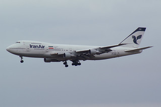 Iran Air Boeing 747-186B EP-IAM