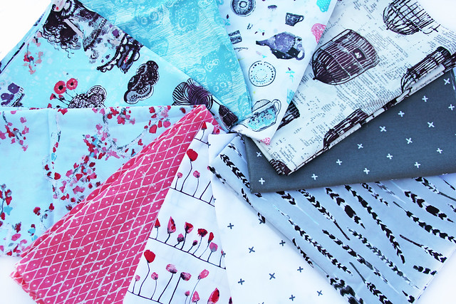 Wonderland fabrics