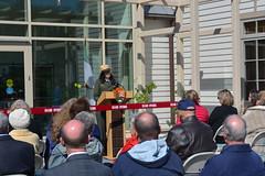 Hampton Visitor Center Opening, 2015