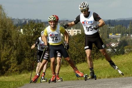 Rückl Crystal MČR v běhu na kolečkových lyžích