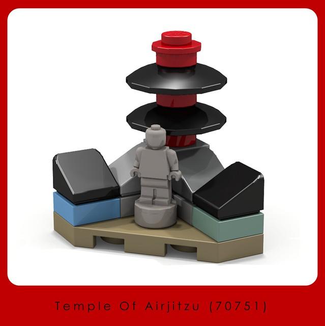 LEGO Store Display - Temple of Airjitzu 70751