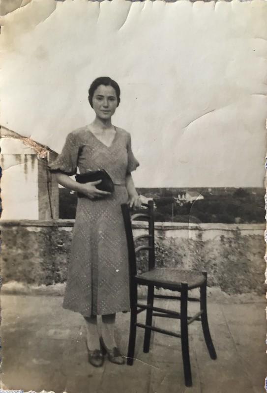 Rutigliano-Auguri i primi 100 anni di Francesca-Da giovane