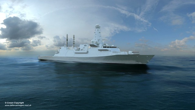Computer Generated Image of the new Offshore Patrol Vessel (OPV).