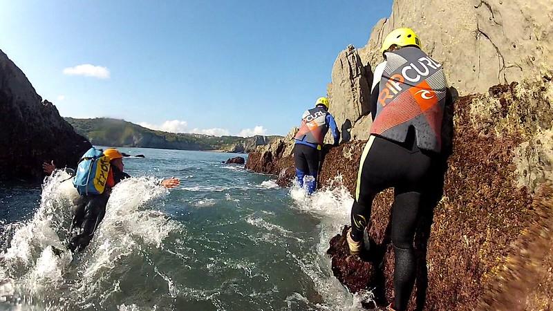 Coastering y Big SUP en Gorliz (Vizcaya)