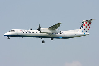 Croatia Airlines Bombardier DHC-8-402 Q400 9A-CQD