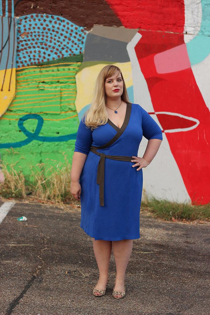 Idle Fancy - Appleton Dress - Cashmerette Patterns - Blue Jersey-0472