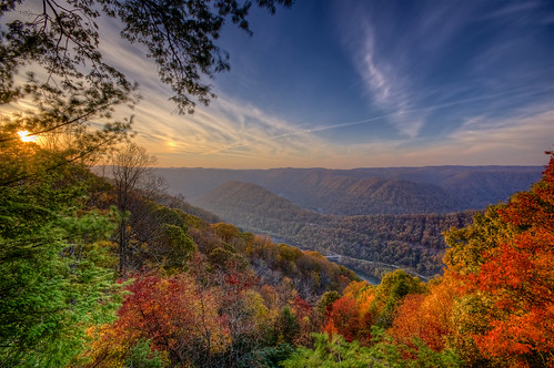 autumn fall foliage wv grandview hdr photomatix pentaxart pentaxk3