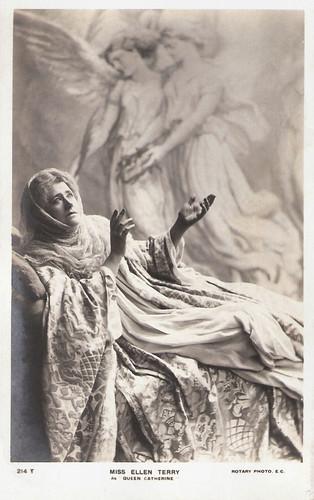 Ellen Terry as Queen Katherine in Henry VIII (1892)