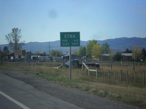 US-89 South - Entering Etna